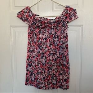 Pea in the Pod floral maternity top